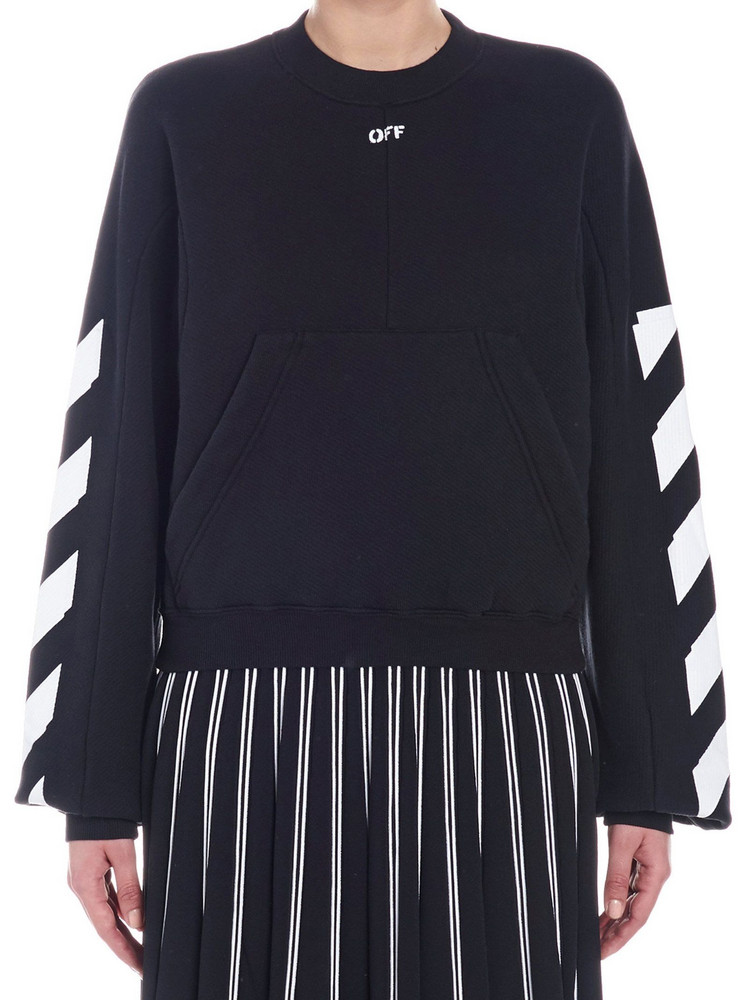 Off-white 'diag' Sweatshirt in black