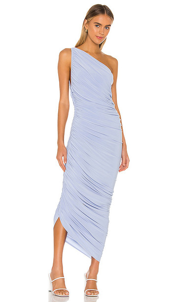 Norma Kamali X REVOLVE Diana Gown in Baby Blue
