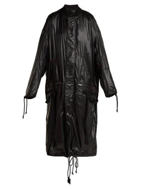 Haider Ackermann - High Shine Shell Coat - Womens - Black