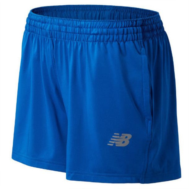 New Balance 555 Women's NB Tech Short - Blue (TMWS555TRY)