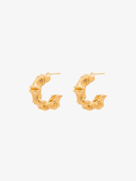 Alighieri 24K gold plated Selva Stenz earrings