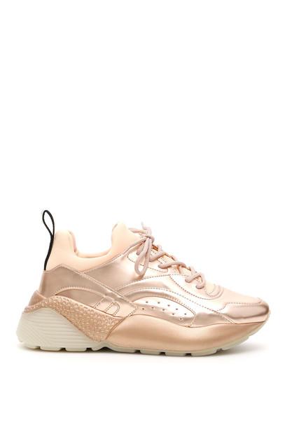 Stella McCartney Eclypse Sneakers in copper / pink