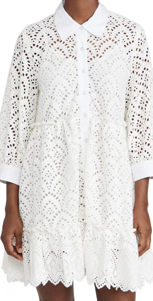 SUNDRESS Bloom Dress in white