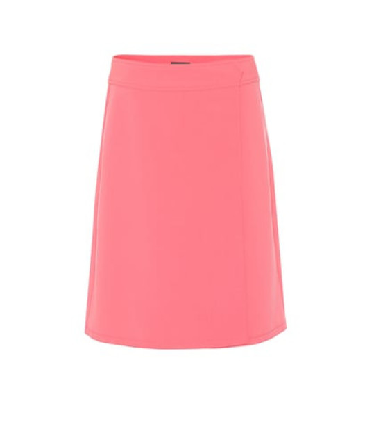 A.P.C. Wrap skirt in pink