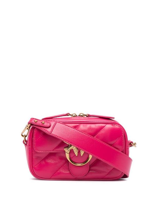 Pinko Love satchel bag in pink