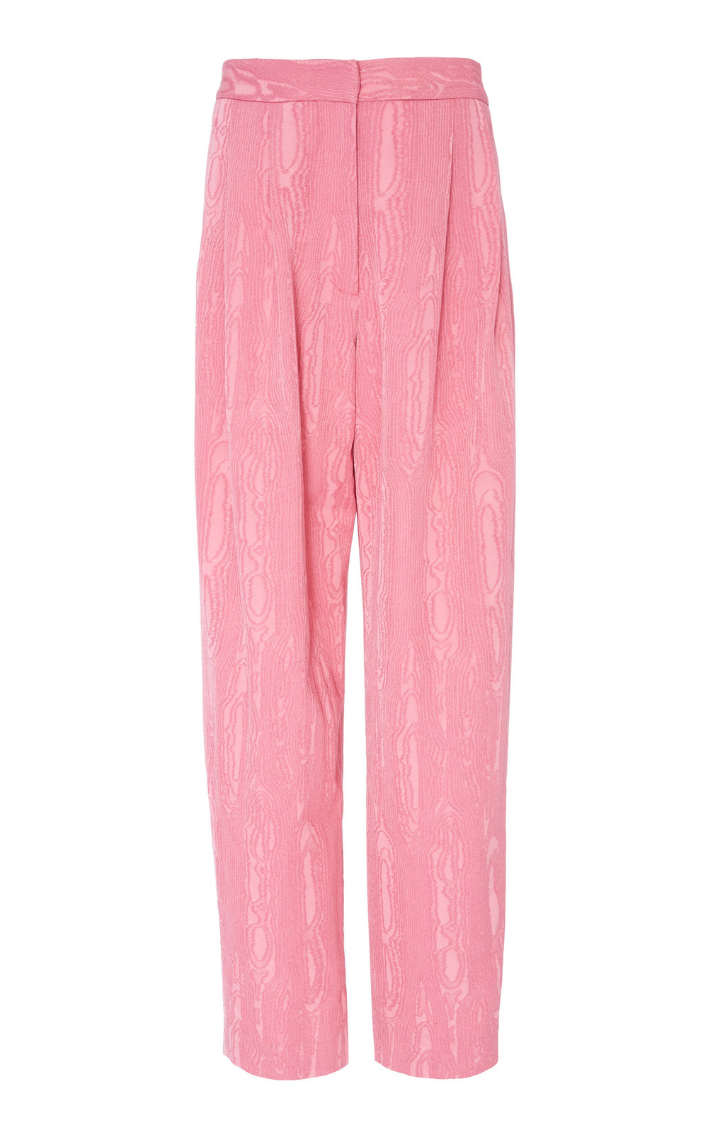 Rachel Comey Thorough Jacquard Wide Leg Pant in pink