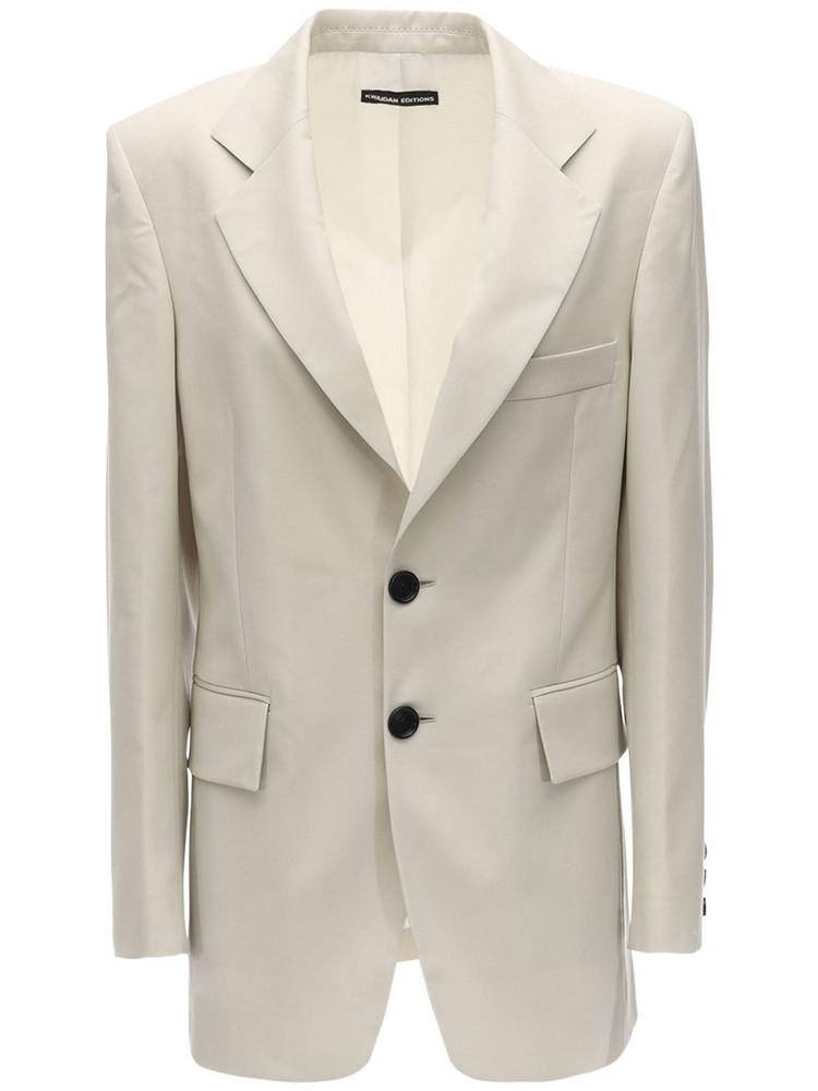 KWAIDAN EDITIONS Summer Wool 70's Jacket in beige