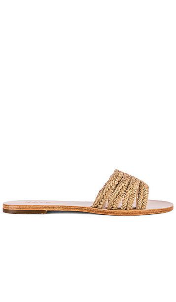 RAYE Twist Sandal in Tan