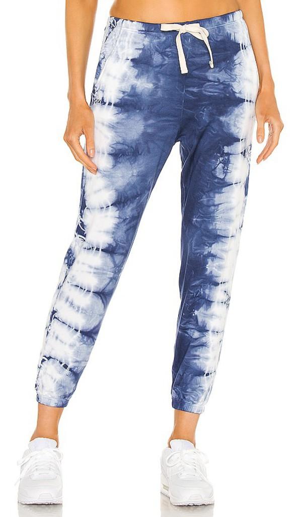Electric & Rose Rialto Sweatpant in Blue in denim / denim