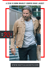 coat,bradley cooper,a star is born,cotton jacket,fashion,celebrity style,mens jacket,jacket,spring outfits