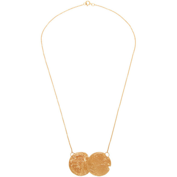 Alighieri Gold 'Dante and the Lion' Necklace