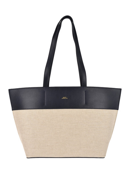 A.P.C. A.p.c. Tote Totally Bag in navy