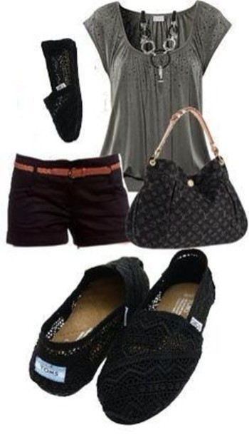 bag blouse shoes jewels shorts