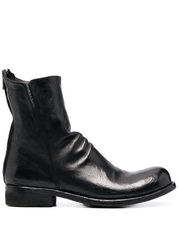 Officine Creative Hubble ankle boots in black