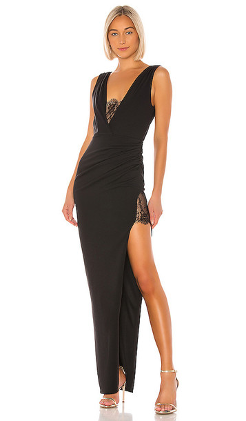 Katie May X NOEL AND JEAN The Unexpected Gown in Black