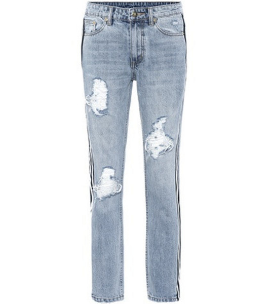 P.E Nation Traction girlfriend jeans in blue