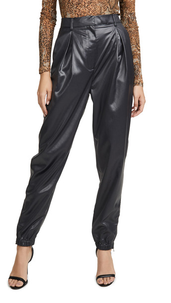 Tibi Pleated Pants in black
