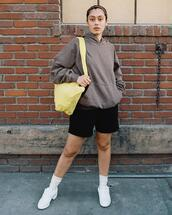 shorts,bag,sweater,shoes