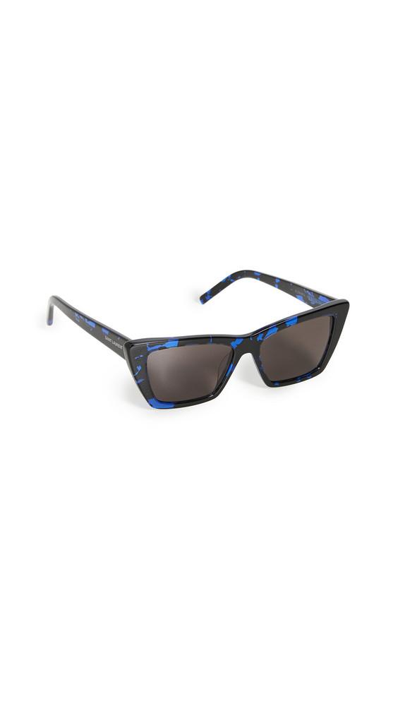 Saint Laurent SL276 Mica Sunglasses in black
