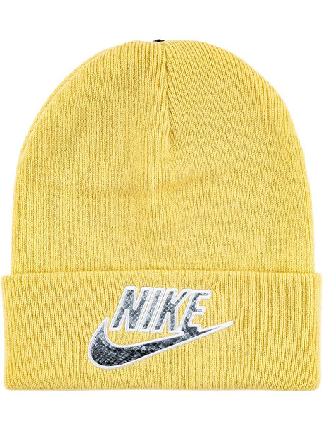 Supreme x Nike beanie hat - Yellow