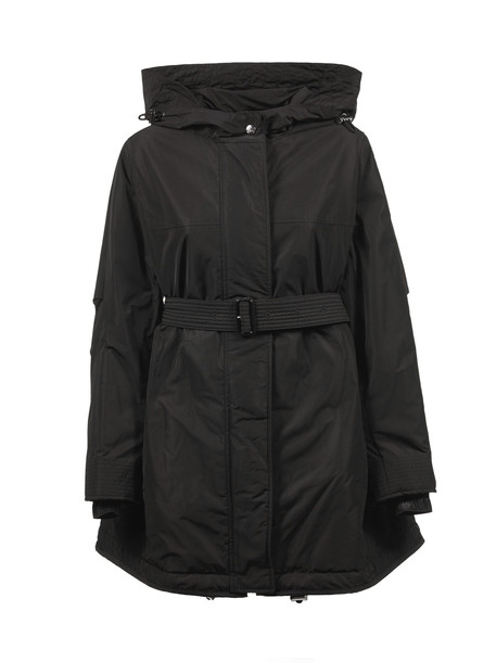 Burberry Hooded Jacket in nero