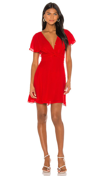 Parker Katie Dress in Red