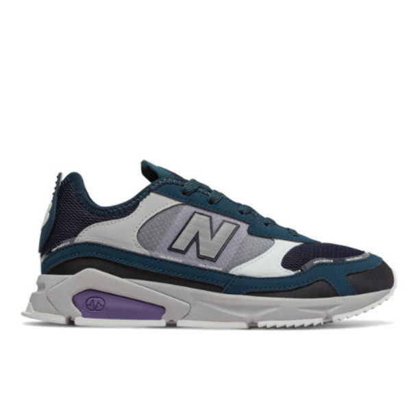 New Balance X-Racer Women's Shoes - Green/Black/Purple (WSXRCHFC)