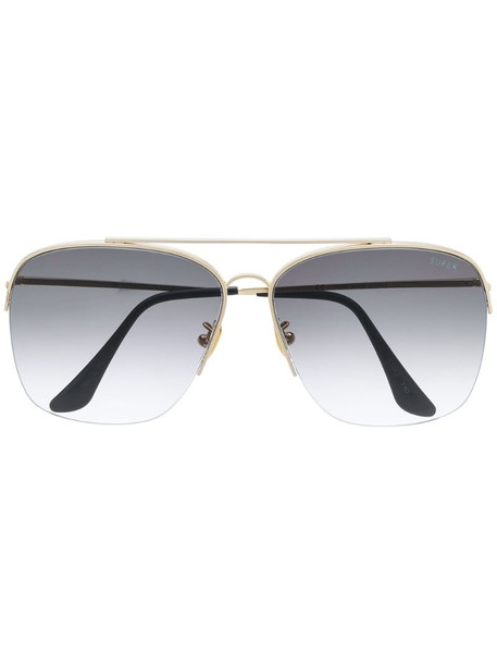 Super By Retrosuperfuture Nazionale aviator sunglasses in black