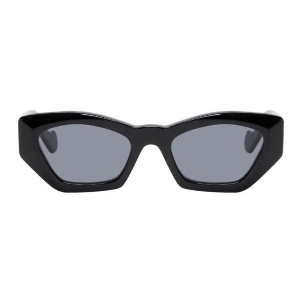 Loewe Black Acetate Butterfly Sunglasses