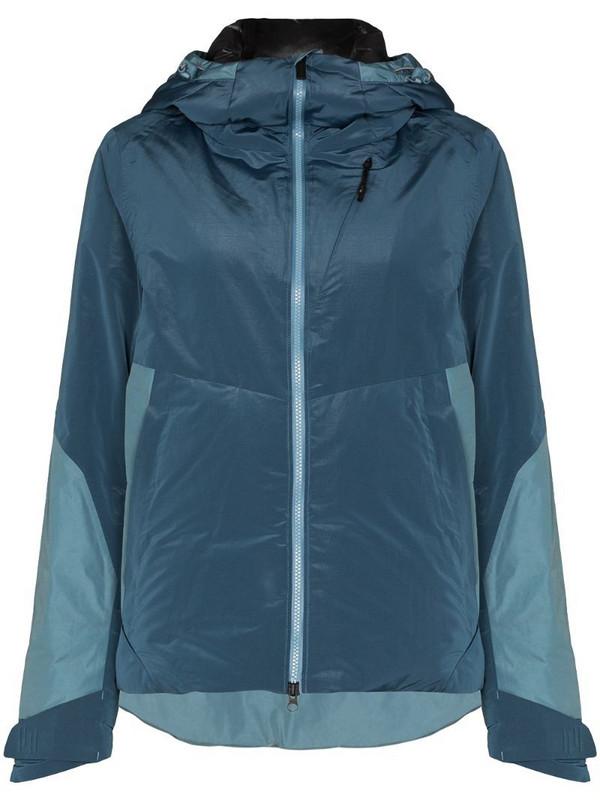 Holden Ashley hooded jacket in blue