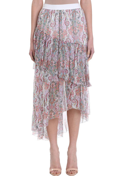 Zimmermann Ninety Six Asymmetric Skirt