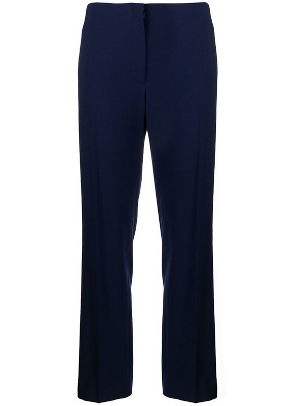 Ralph Lauren Collection loose fit straight leg trousers in blue