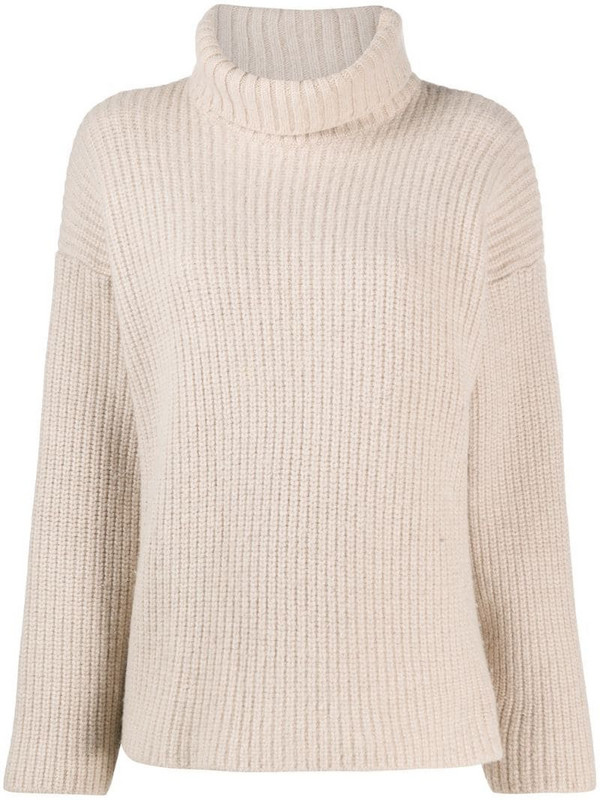Dolce & Gabbana Pre-Owned 1990s turtle neck jumper in neutrals