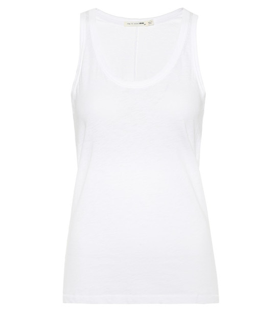 Rag & Bone The cotton tank in white