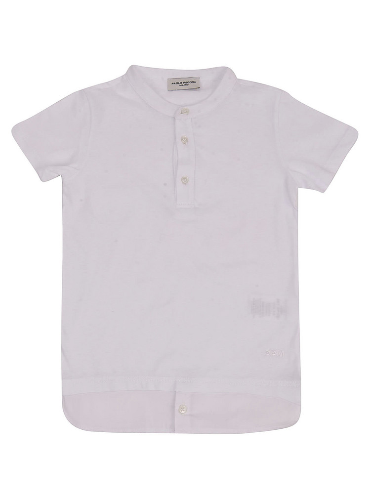 Paolo Pecora Buttoned Shirt in white