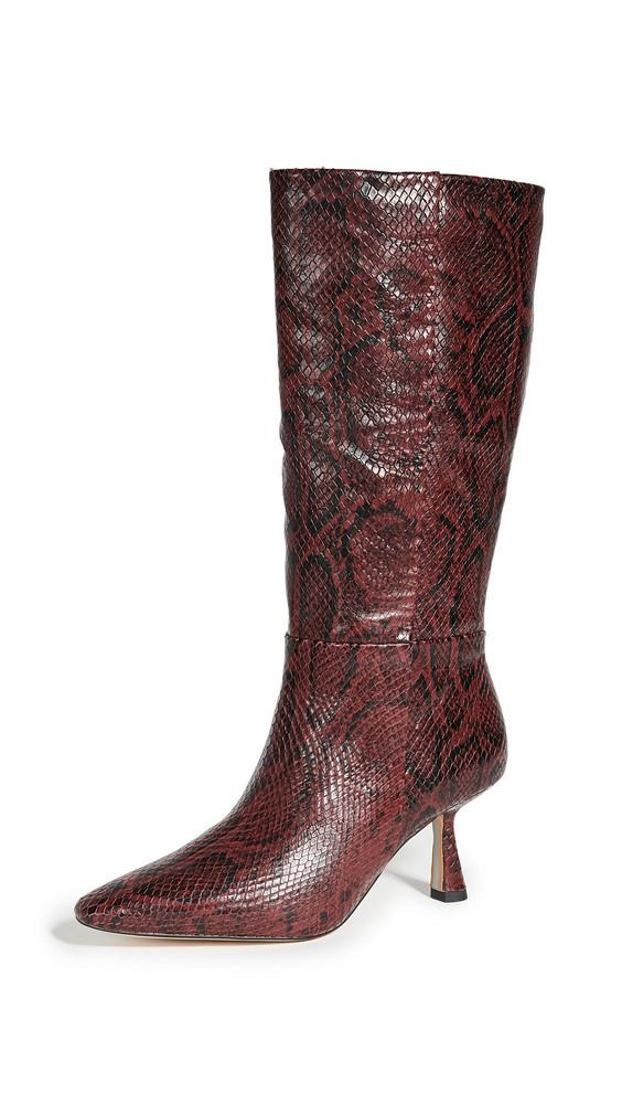 Sam Edelman Samira Boots in plum / multi