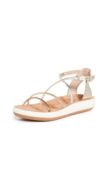 Ancient Greek Sandals Anastasia Comfort Sandals in metallic