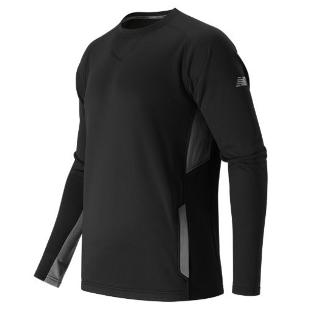 New Balance 602 Men's Baseball Pullover - Black (TMMT602TBK)