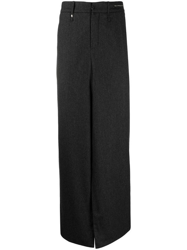 Ader Error wide-leg tailored trousers in black
