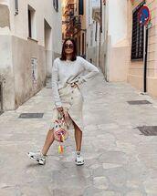 skirt,beige skirt
