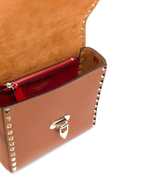 Valentino Garavani Rockstud crossbody bag in brown
