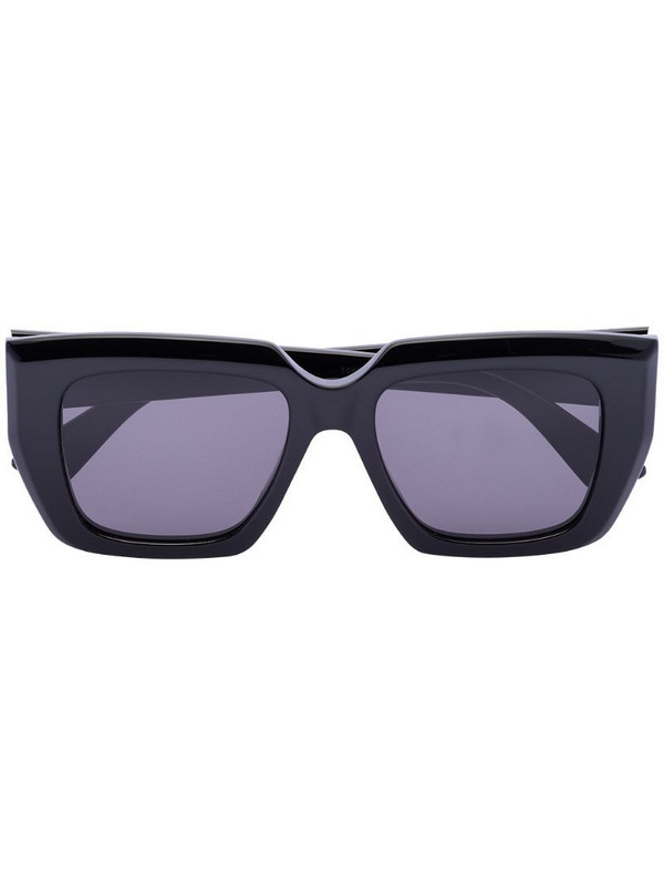 Bottega Veneta Eyewear square sunglasses in black