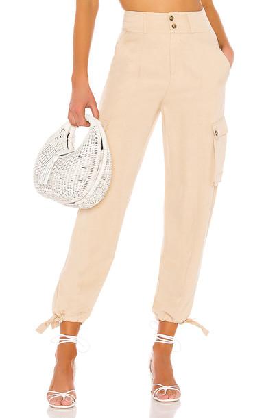 Tularosa Dalary Cargo Pant in beige