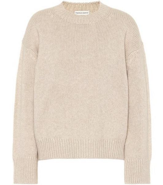 Mansur Gavriel Cashmere sweater in beige