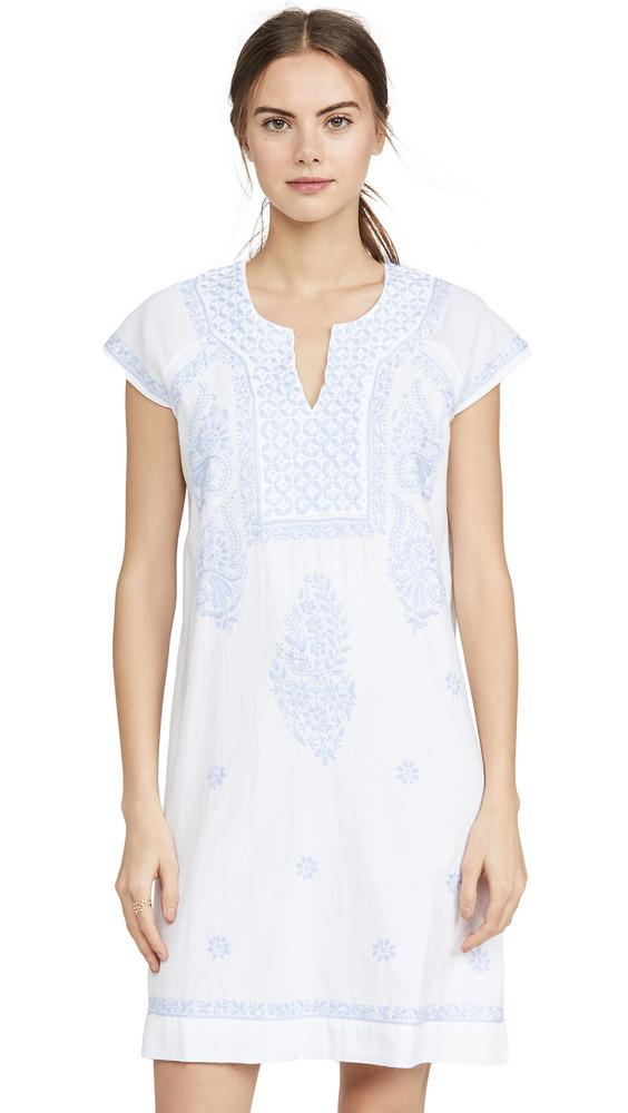 Roller Rabbit Faith Dress in white