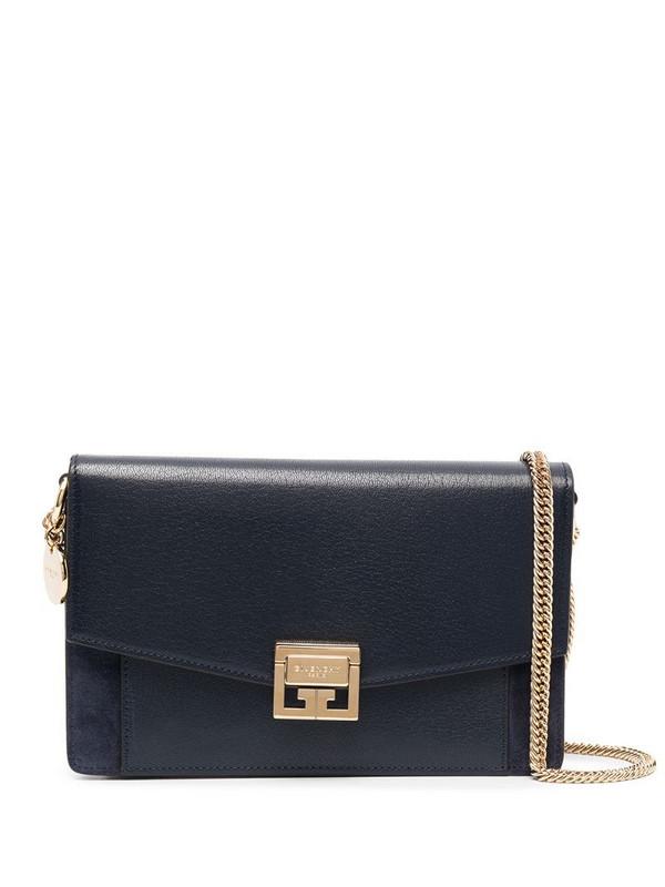 Givenchy mini GV3 crossbody bag in blue