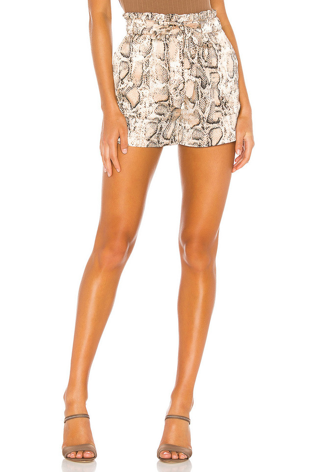L'Academie Jane Shorts in tan