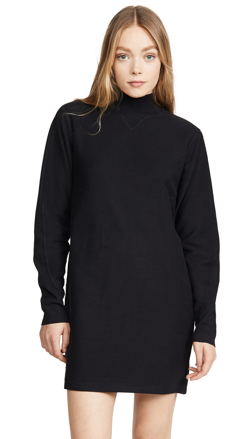 Rag & Bone/JEAN Utility Turtleneck Dress in black