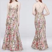 dress,floral,wedding dress,maxi dress