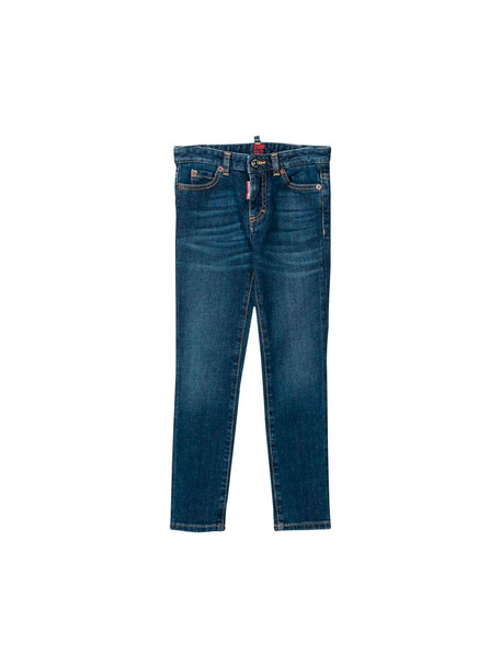Dsquared2 Jeans Skinny Blu Teen